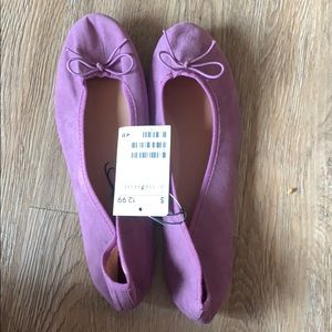 Purple H&M flats